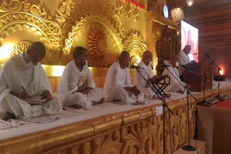 कर्म बंधनों का क्षय ही परमात्मा प्राप्ति है: शिव मुनि