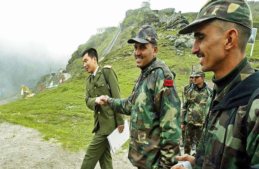 लद्दाख में भारत- चीन के सैनिक एक बार फिर आमने-सामने, फ्लैग मीटिंग के बाद मामला शांत