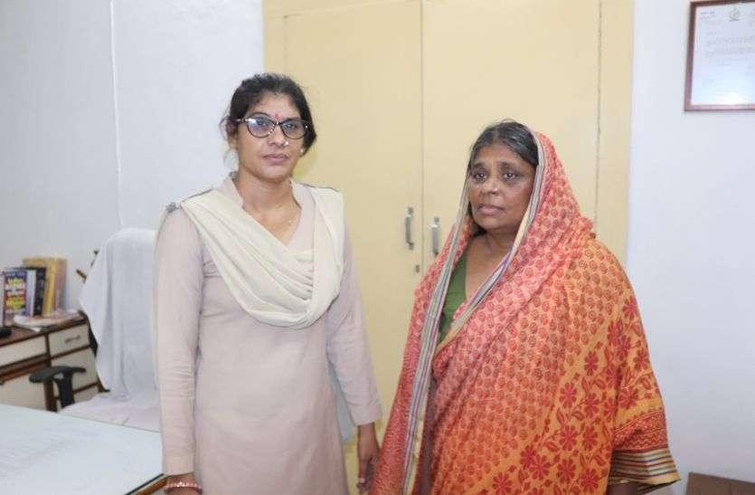 बच्चा चुराती जयपुर की संदिग्ध महिला को अजमेर में पकड़ा