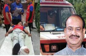 अनन्त चतुर्दशी : ट्रैक्टर से गिरने से बालक का पैर टूटा, लोकसभा स्पीकर ओम बिरला के प्रोटोकॉल में लगी एंबुलेंस में पहुंचाया अस्पताल