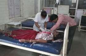 उल्टी दस्त का प्रकोप...सात मरीज भर्ती, गर्भवती महिला और बच्चें शामिल-देखें वीडियो