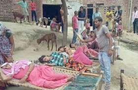 हाथरस के गांव में बुखार का प्रकोप, घर-घर में बिछी चारपाई