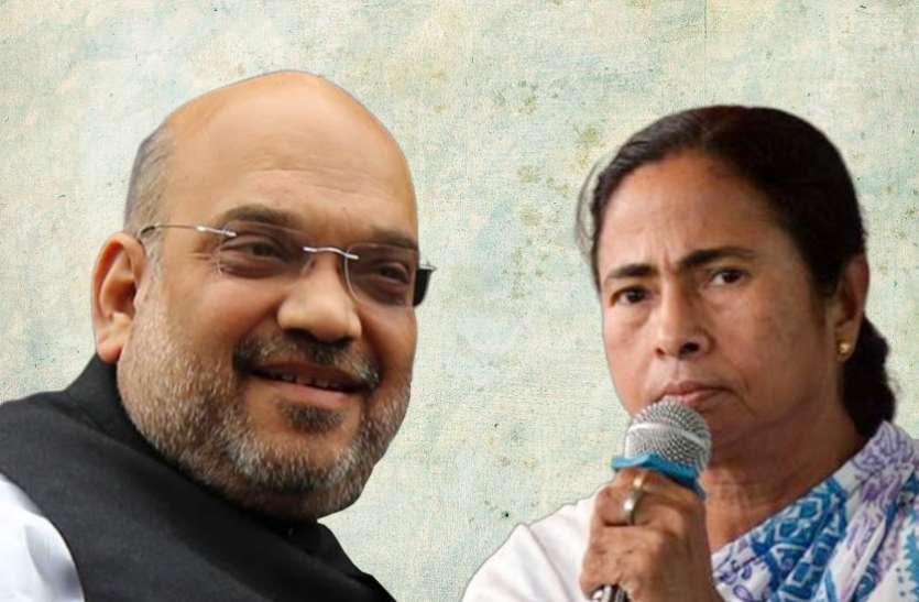पश्चिम बंगाल से अमित शाह को मिला दुर्गा पूजा के उद्घाटन का न्यौता, TMC ने किया विरोध