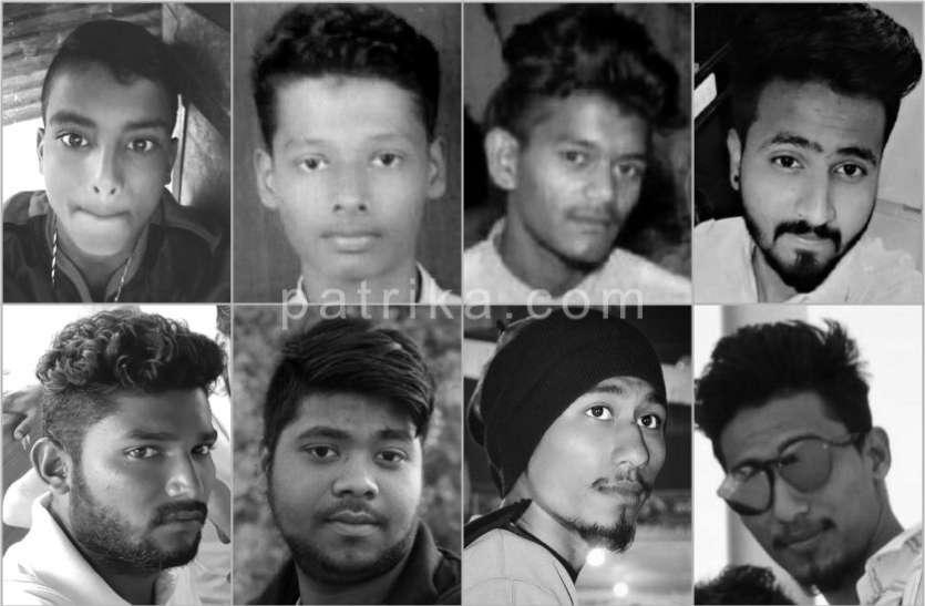 नाव हादसे में 11 लोगों की मौत, बेटे की लाश देखते ही फफक-फफक कर रो पड़ी मां