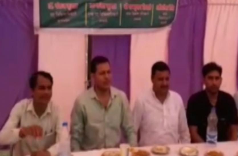 VIDEO: यूपी में दूध की नहीं होगी कमी, कैबिनेट मंत्री सुरेश राणा के प्रतिनिधि ने बताई ये बातें