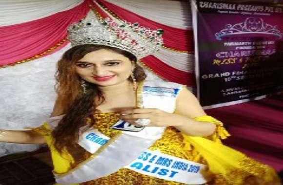 सिने नगरी मुम्बई में बारां की ब्यूटी ने जीता दिल,प्रीती मीणा बनी करिज्मा मिसेज इंडिया,कहा यूं ही अंधेरों में चिराग रोशन नहीं होते..