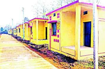 प्रधानमंत्री आवास के लिए गांवों में न आबादी जमीन और न ही घास जमीन