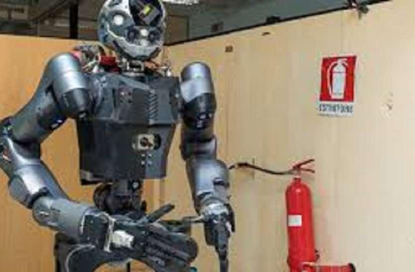 अब रोबोट व ड्रोन बुझाएंगे आग, जाने कहां...