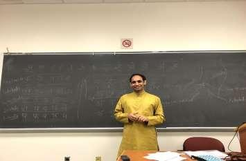 अमरीका में हिंदी सिखा रहे अजमेर के डॉ. मोक्षराज