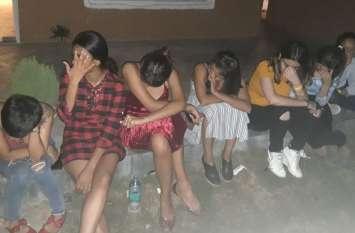 गुरुग्राम में चल रही थी हाईप्रोफाइन रेव पार्टी, पुलिस ने डाली रेड, अवैध शराब जब्त