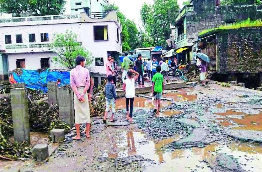 आलीराजपुर जिले में रिकॉर्ड तोड़ बारिश, कट्ठीवाड़ा में 78 इंच बारिश