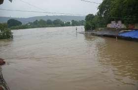 उफान पर आई गंभीरी नदी, चित्तौड़़ में जारी किया अलर्ट