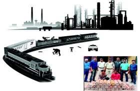 BSP: फिल्मी स्टाइल में लोहा चोरी, मालगाड़ी में छिपकर प्लांट के अंदर घुसते थे चोर, सुबह फिर हो जाते थे उसी ट्रेन में सवार