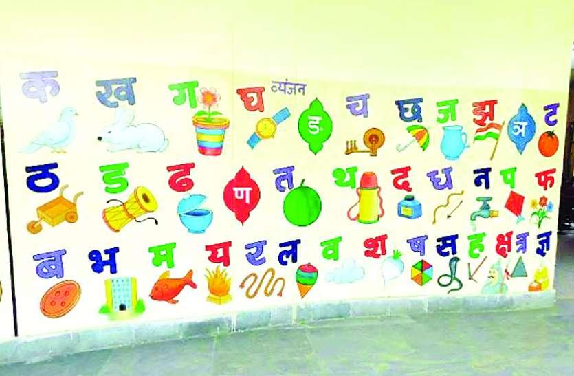 हिन्दी दिवस : अंग्रेजी के 26 अक्षर खुलकर बोल लेते है, लेकिन हिंदी की वर्णमाला नहीं बोल पा रहे बच्चे