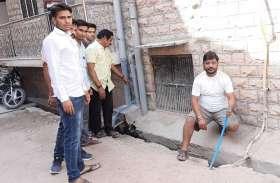 चोरी की वारदातें सीसीटीवी कैमरे में कैद फिर भी खाली हाथ पुलिस