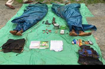 भीमा मंडावी की हत्या में शामिल इनामी नक्सलियों को पुलिस ने उतारा मौत के घाट, था पांच-पांच लाख का इनाम