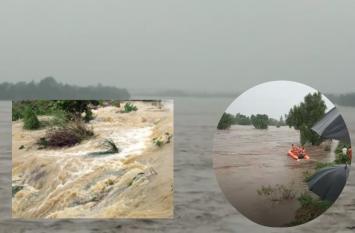 राजस्थान : झालावाड़ में बाढ़ के हालात, सेना बुलाई, सभी नदियां खतरे के निशान से ऊपर, कई लोग बेघर
