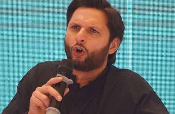 खेल भावना त्यागकर इमरान खान की राह पर चले शाहिद अफरीदी, दिया विवादित बयान