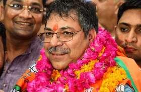 पूनिया का प्रदेशाध्यक्ष बनने के बाद भाजपा मुख्यालय में हुआ जबरदस्त स्वागत, देखें तस्वीरें...