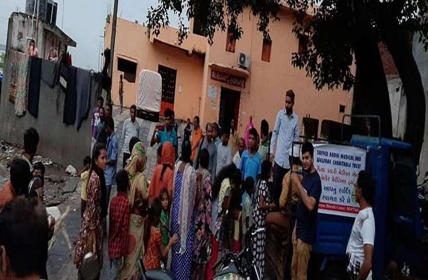 भरुच और नर्मदा के 40 गांव बाढ़ से प्रभावित