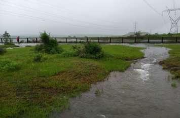 पिछले साल 22 इस साल बरसा गया 42 इंच पानी