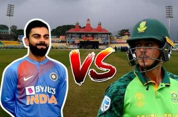 भारत-दक्षिण अफ्रीका के बीच पहला टी20 मुकाबला आज, वर्ल्ड कप के बाद मैदान पर दिखेंगे पांड्या