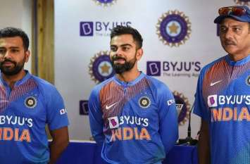 IND vs SA: टीम इंडिया की नई जर्सी पर आया Byju's का नाम, चाइना की कंपनी Oppo की हुई छुट्टी