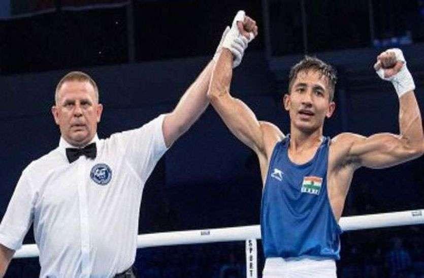 विश्व मुक्केबाजी चैम्पियनशिप : कविंदर पहुंचे प्री-क्वार्टर फाइनल में, चीनी खिलाड़ी को हराया