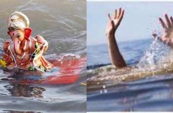 गणेश विसर्जन के दौरान हादसा, नाले में डूबने से 7 साल के मासूम की हुई मौत