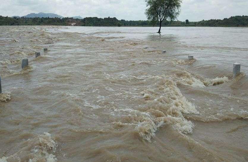 गांवों में जलभराव का बढ़ा खतरा