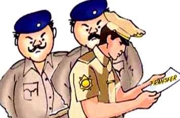 पुलिस विभाग में बड़ा बदलाव, एक साथ दर्जनों पुलिसकर्मियों के तबादले, देखें पूरी लिस्ट