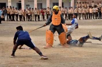 बाड़मेर में हॉकी का रोमांच, खिलाड़ी दिखा रहे दमखम