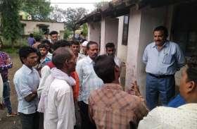 जनपद सदस्य व ग्रामीणों ने जनपद सीईओ व विधायक से की शिकायत