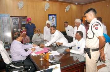 किसानों ने कहा कि हरियाणा व पंजाब ने किया, राजस्थान भी करे पुन: अवार्ड जारी,