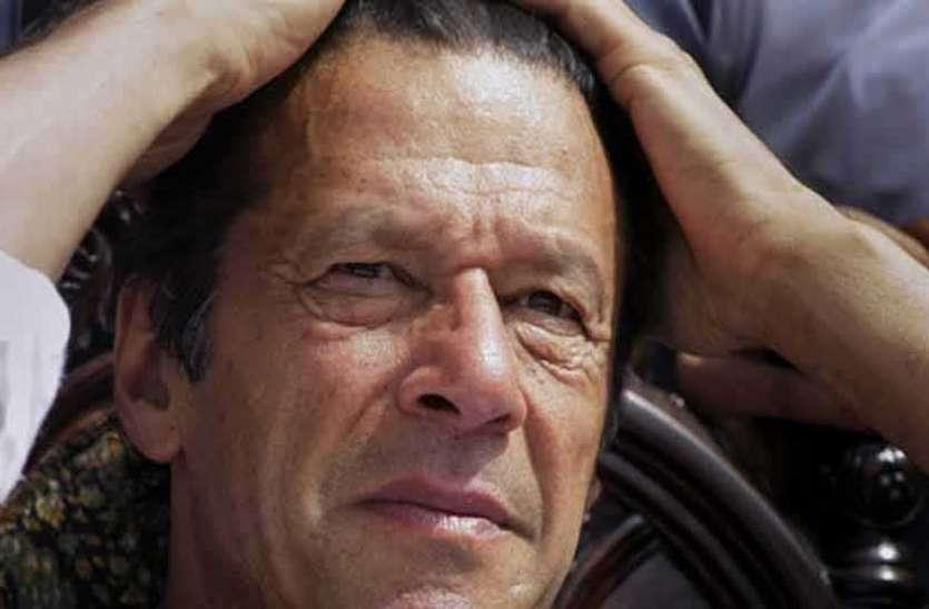 भारत के खिलाफ इमरान खान का बेतुका बयान, कहा-पाकिस्तान को करना चाहते हैं दिवालिया