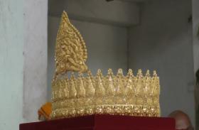 पीएम नरेन्द्र मोदी के लिए बजरंग बली को चढ़ाया गया सवा किलो का स्वर्ण मुकुट, पूरा हुआ संकल्प