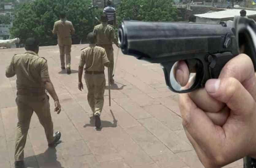 राजस्थान : यहां अचानक हुई पुलिस और बदमाशों के बीच मुठभेड़, इनामी बदमाश सुरेश गुर्जर होने की आशंका!