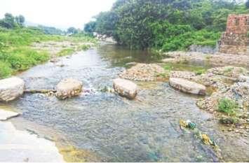 बरसात थमी: नदियों में पानी की आवक जारी, काणा बांध भराव क्षमता के करीब