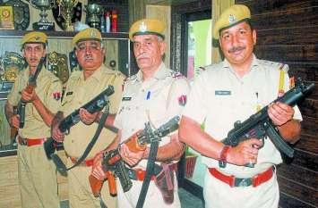 राजस्थान पुलिस के पुलिसकर्मियों को नहीं चलाने आते आधुनिक हथियार! पुलिस महानिदेशक ने जताई चिंता