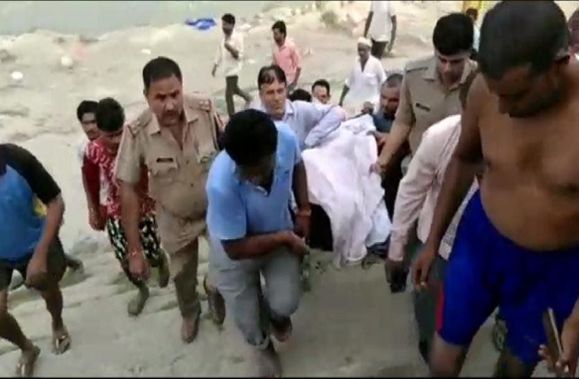 एक डूबते युवक को बचाने की जद्दोजहद में एक के बाद एक 5 और युवक यमुना में समाए