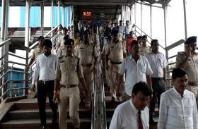जैश की धमकी के बाद स्टेशनों पर सुरक्षा चाक चौबंद