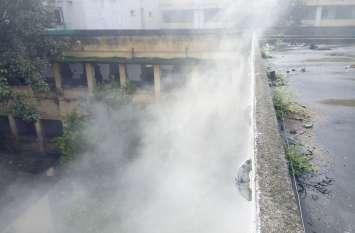 fire: जिला अस्पताल में लगी आग के धुंए से सहमे मरीज, देखें वीडियो