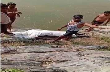 अधेड़ का शव मिला, तालाब में डूबने से किशोरी की मौत