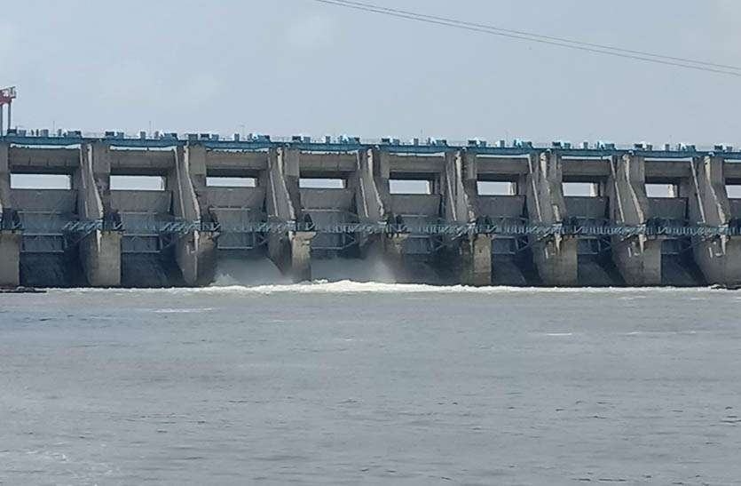 बीसलपुर के 2 गेट से 6 हजार 10 क्यूसेक पानी की निकासी जारी