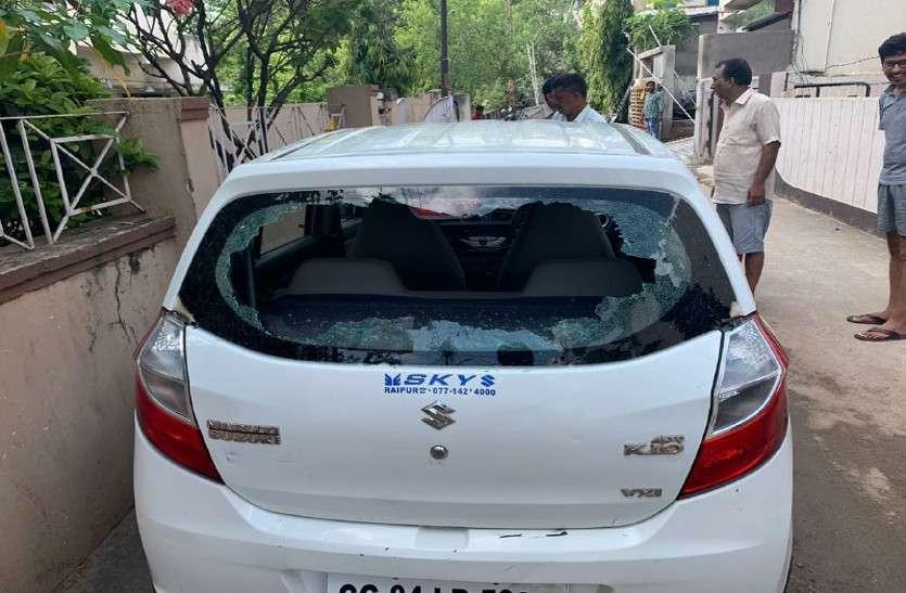 रिटायर्ड मिलीट्री मैन को आया इतना गुस्सा, महिला की कार पर चला दी गोली, लोगों में मची भगदड़