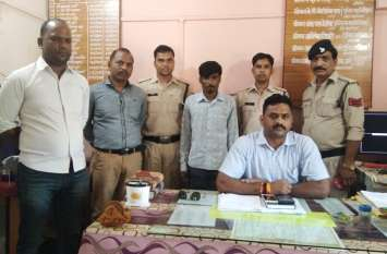 जिला बदर कुशनाजी को पुलिस ने किया गिरफ्तार, पहुंचा जेल