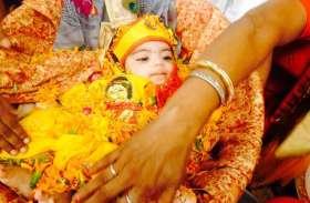 कृष्ण जन्मोत्सव में झूमे श्रद्धालु