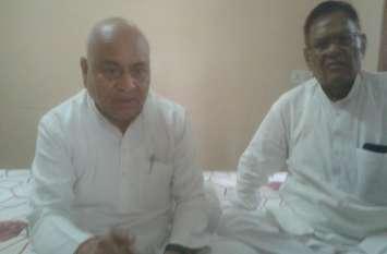 भाजपा मंत्री और पूर्व मुख्यमंत्री सिर्फ घडिय़ाली आंसू बहाने के लिए यहां आए हैं : डॉ. गोविंद सिंह
