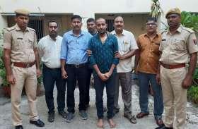 Train robbery-अहमदाबाद के तीन ज्वैलर्स से 1.7 किग्रा के सोने के बिस्किट बरामद