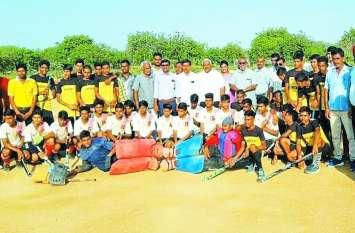 राज्य स्तरीय हॉकी प्रतियोगिता में अलवर रहा विजेता, अंडर-17 में हनुमानगढ़ को हराकर जीता खिताब